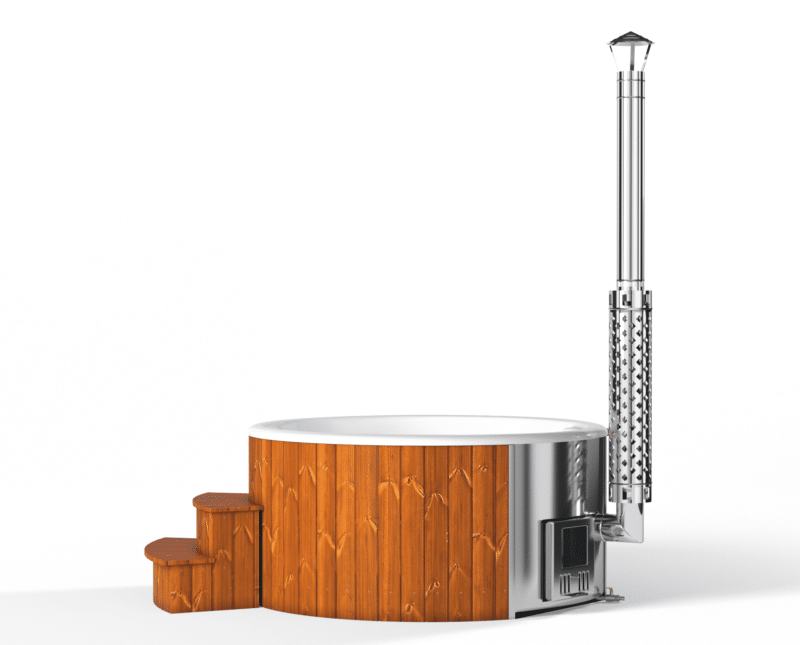 Deluxe Fibreglass Hot Tub