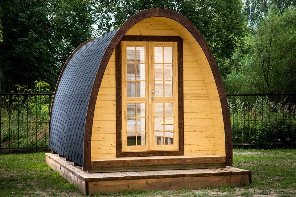 Camping pod UK