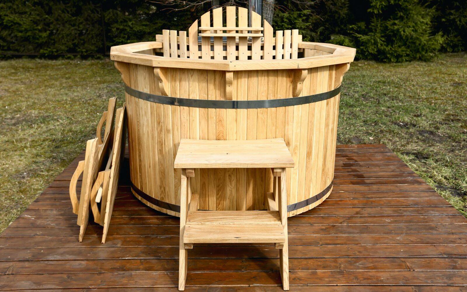 Wooden Hot Tubs Versatility