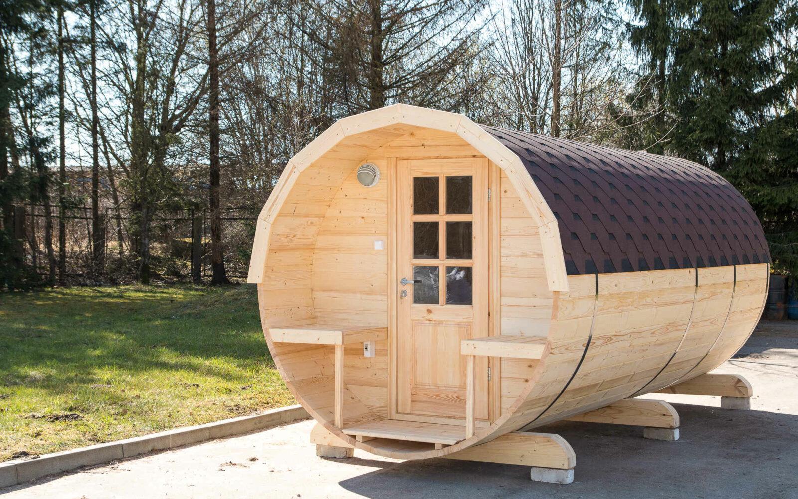 Choosing 5m New Barrel Sauna Royal Tubs