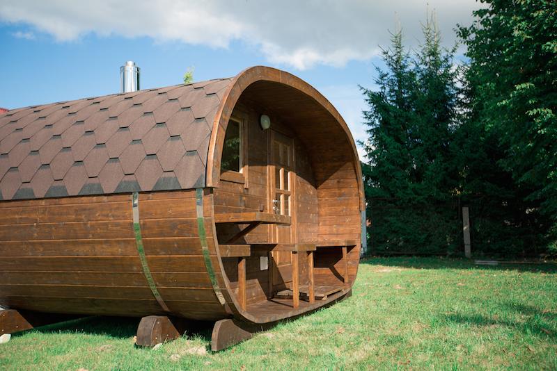 Oval Sauna - Royal Tubs 01