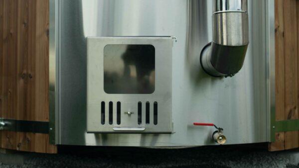 Heater Glass Door
