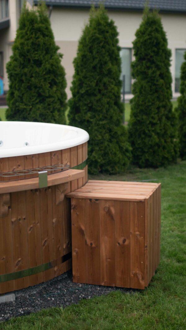 Wooden Enclosure Box