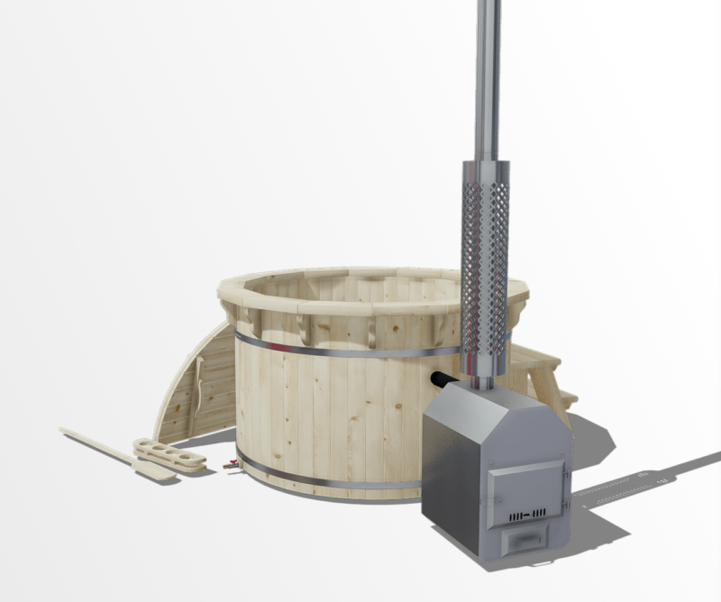 Spruce | 1.6m | 6 seater tub
