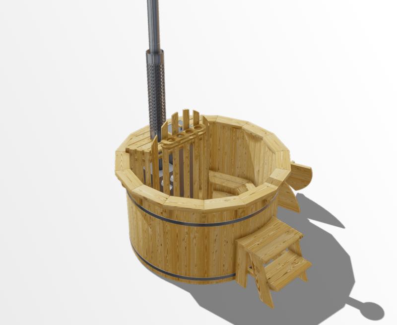 Larch | 1.6m | 6 seater tub