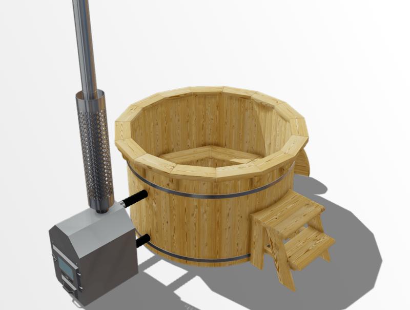 Larch   1.6m   6 seater tub